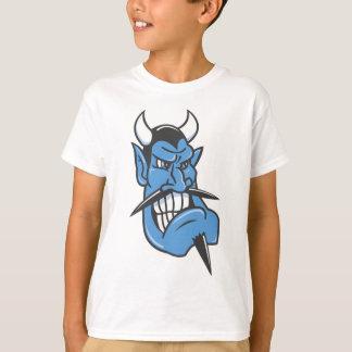 Blue Devil Face T-Shirt
