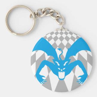 Blue Devil Keychain