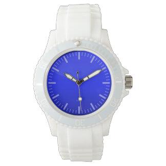 Blue Dial Wristwatch