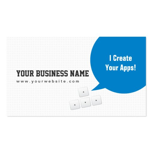 Programmer Business Card Templates Page6