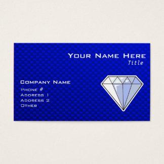 Blue Diamond Business Card