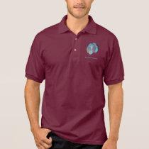 Blue Diamond Discus Polo Shirt