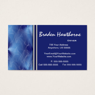 Blue Diamond Graphic Design Business Cards 2