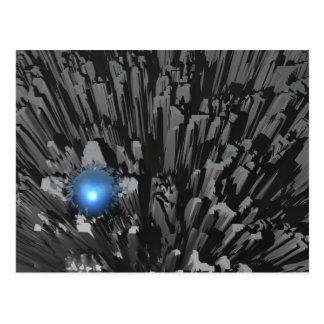 Blue Diamond In The Rough Postcard