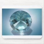 blue diamond mouse pad