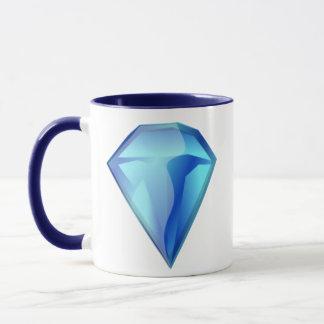 Blue Diamond Mug