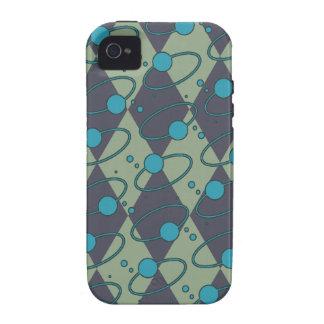 Blue Diamond Orbit Vibe iPhone 4 Cover