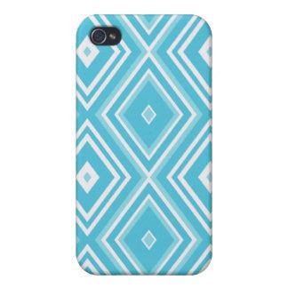 Blue Diamond Print iPhone 4g Speck Case