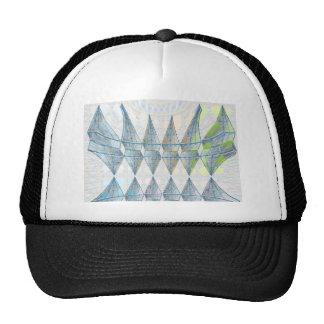 Blue Diamond Sail Flair Trucker Hat