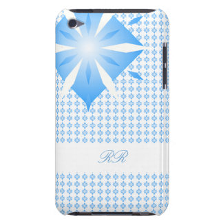 Blue Diamond Shape iPod Touch 4G case