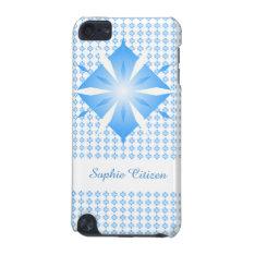 Blue Diamond Shape Ipod Touch 5g Case at Zazzle