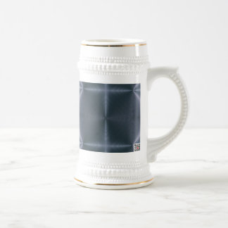 Blue Diamonds Beer Stein