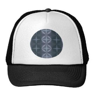 Blue Diamonds Mesh Hats