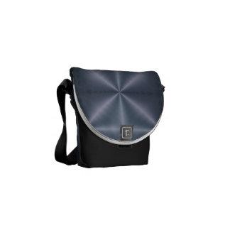 Blue Diamonds Messenger Bag