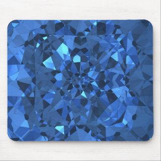 Blue Diamonds Mousepads
