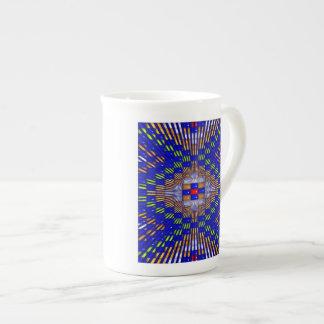'Blue Diamonds' Tea Cup