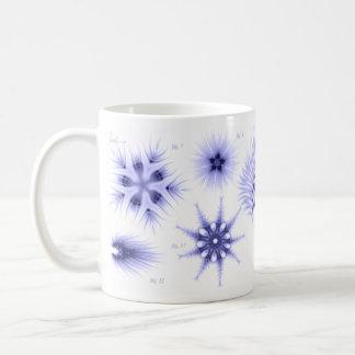Blue Diatom Coffee Mug