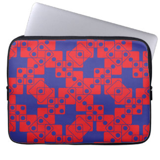 Blue Dice Computer Sleeve