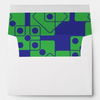 Blue Dice Envelope