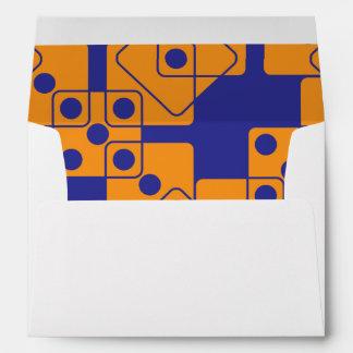 Blue Dice Envelopes