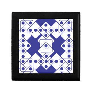Blue Dice Jewelry Box