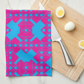 Blue Dice Kitchen Towel