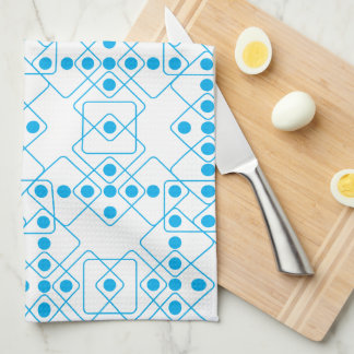 Blue Dice Kitchen Towels