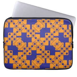 Blue Dice Laptop Sleeve
