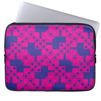 Blue Dice Laptop Computer Sleeves