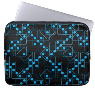 Blue Dice Laptop Computer Sleeve