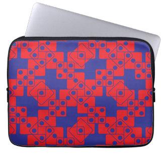 Blue Dice Computer Sleeve