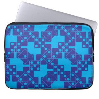 Blue Dice Laptop Sleeves
