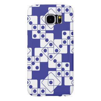 Blue Dice Samsung Galaxy S6 Case