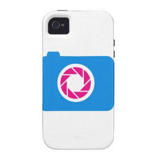 Blue digital camera Case-Mate iPhone 4 cases