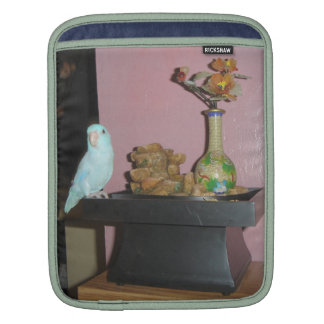 Blue Dilute Parrotlet Sleeve For iPads