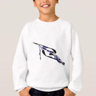 Blue Dimensional TimeWarp Sweatshirt
