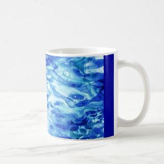 blue_dimple_glass coffee mug