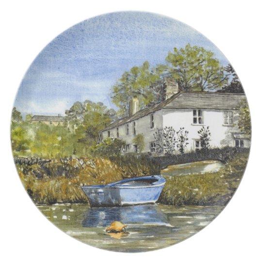 'Blue Dinghy' Plate