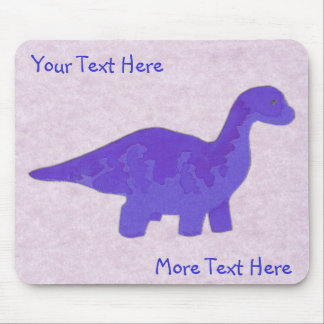 Blue Dino Mousepad