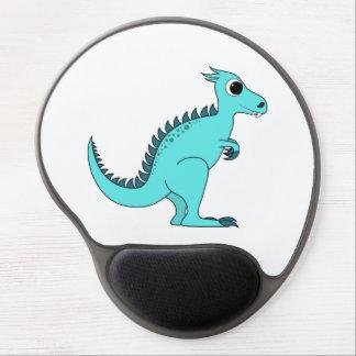 Blue Dinosaur Gel Mouse Pad