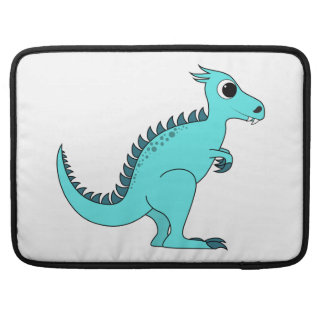 Blue Dinosaur Sleeve For MacBook Pro