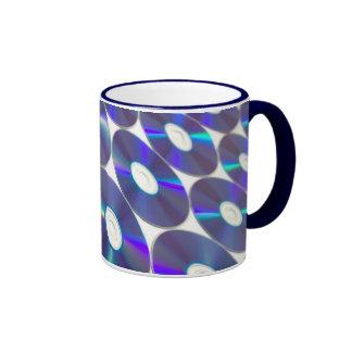 Blue Disc Mug