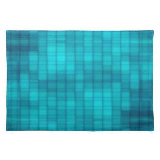 Blue Disco Placemats