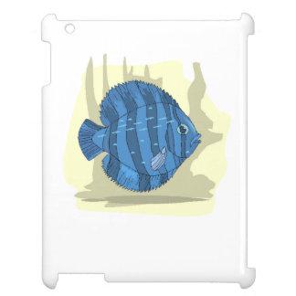 Blue Discus Fish iPad Cover