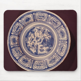 Blue dish, deriving from a late Ming Export Mouse Pad