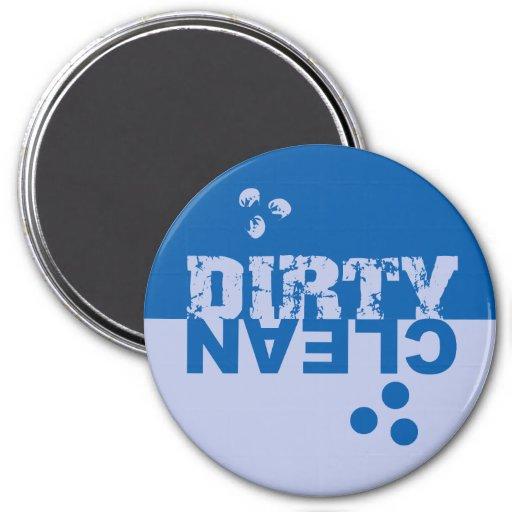 Blue Dishwasher Magnet