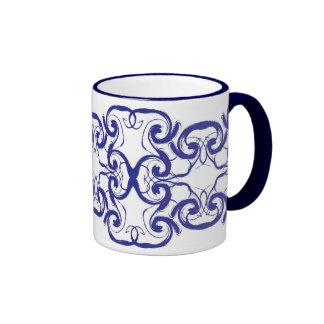 Blue Distortions Mug