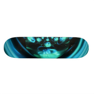 Blue Distraction Skateboard