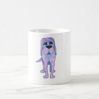 BLUE DOG CLASSIC WHITE COFFEE MUG