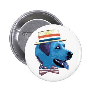 Blue Dog Democrat Button